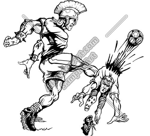 500x452 Trojan Clipart Warrior