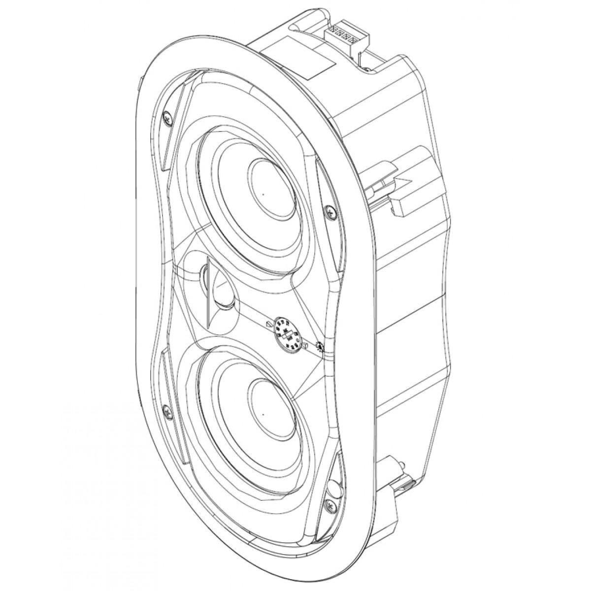 1200x1200 Electrovoice Ev Evid Fm 4.2 Flush Mount Speaker @ Commercial Audio