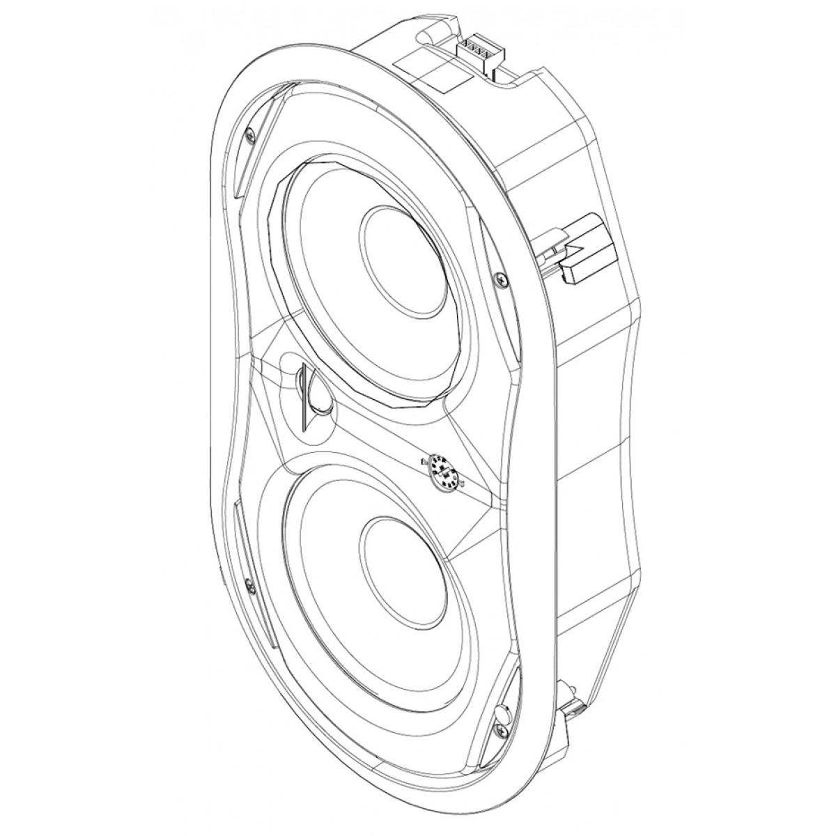 1200x1200 Electrovoice Ev Evid Fm 6.2 Flush Mount Speaker @ Commercial Audio