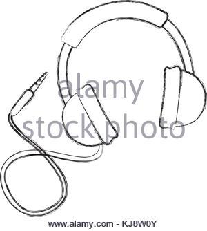 300x334 Speaker Sound Volume Pictogram Draw Stock Vector Art