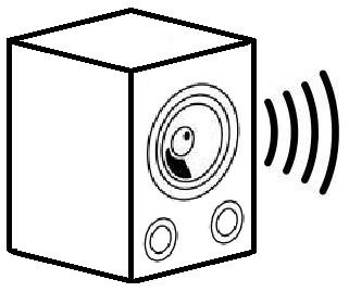 321x269 Drawn Speakers Sketch