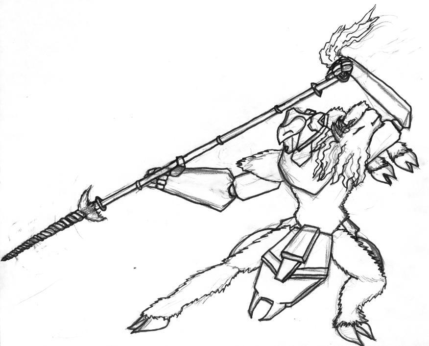 876x706 Lancea Strata Spear Pose By Wreck Gar