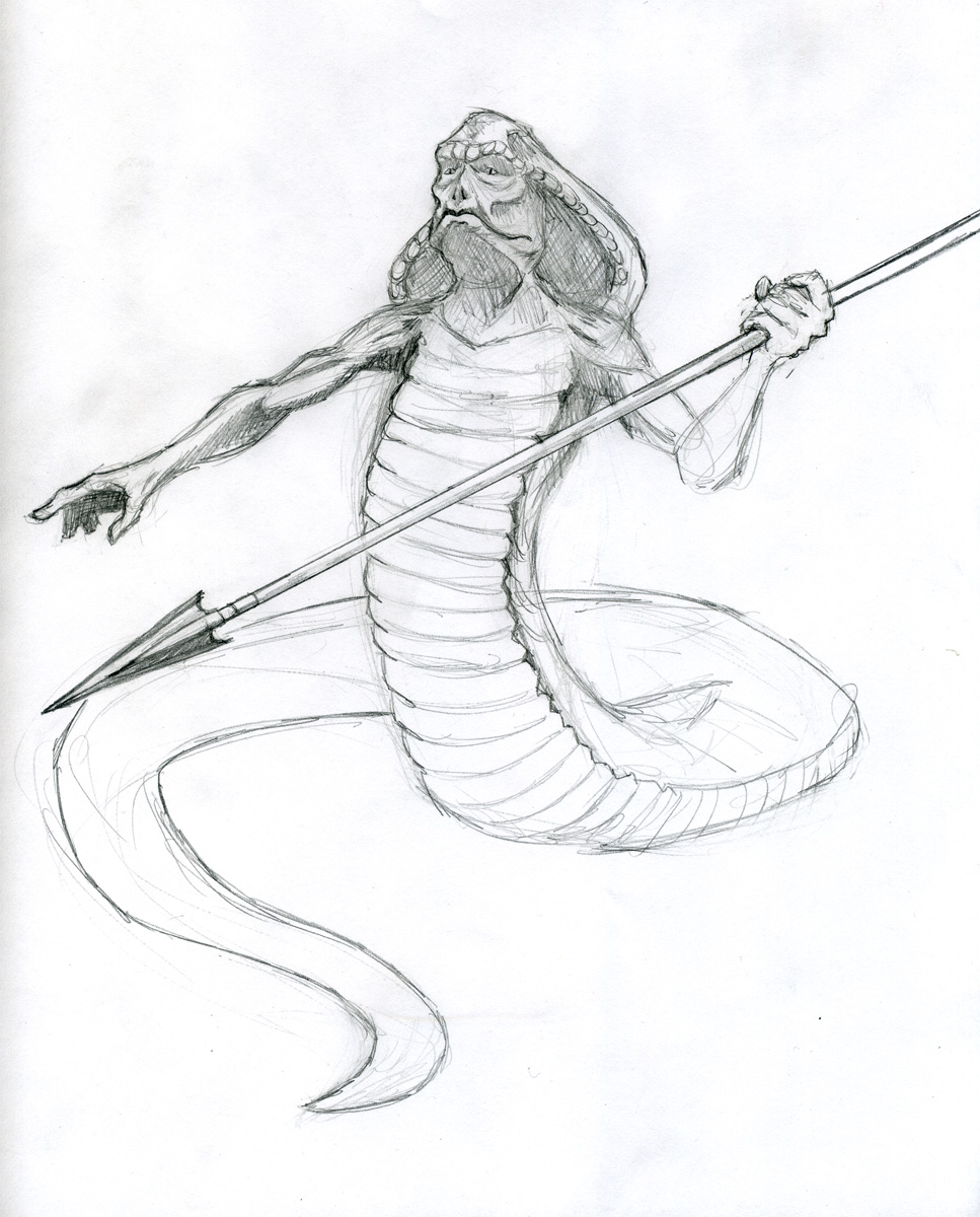 967x1200 Shock Snake Guy With Spear Operation Graphite