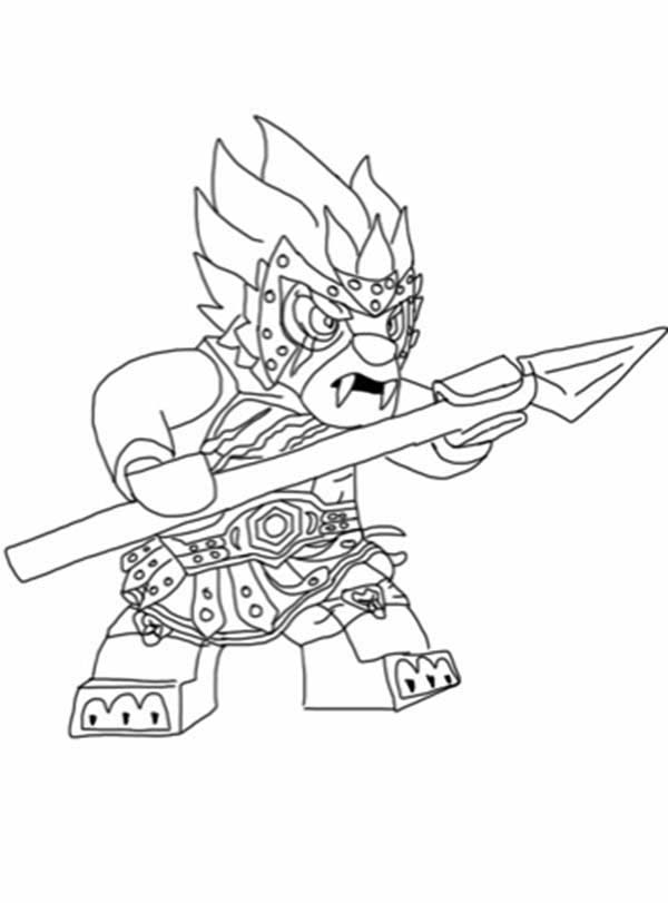 600x811 Spear Coloring Pages