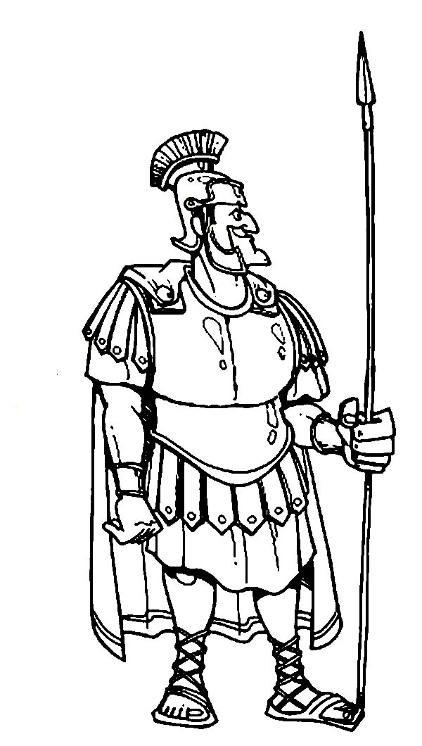600x1060 Centurion Cornelius In Armor And A Spear In The Bible Heroes
