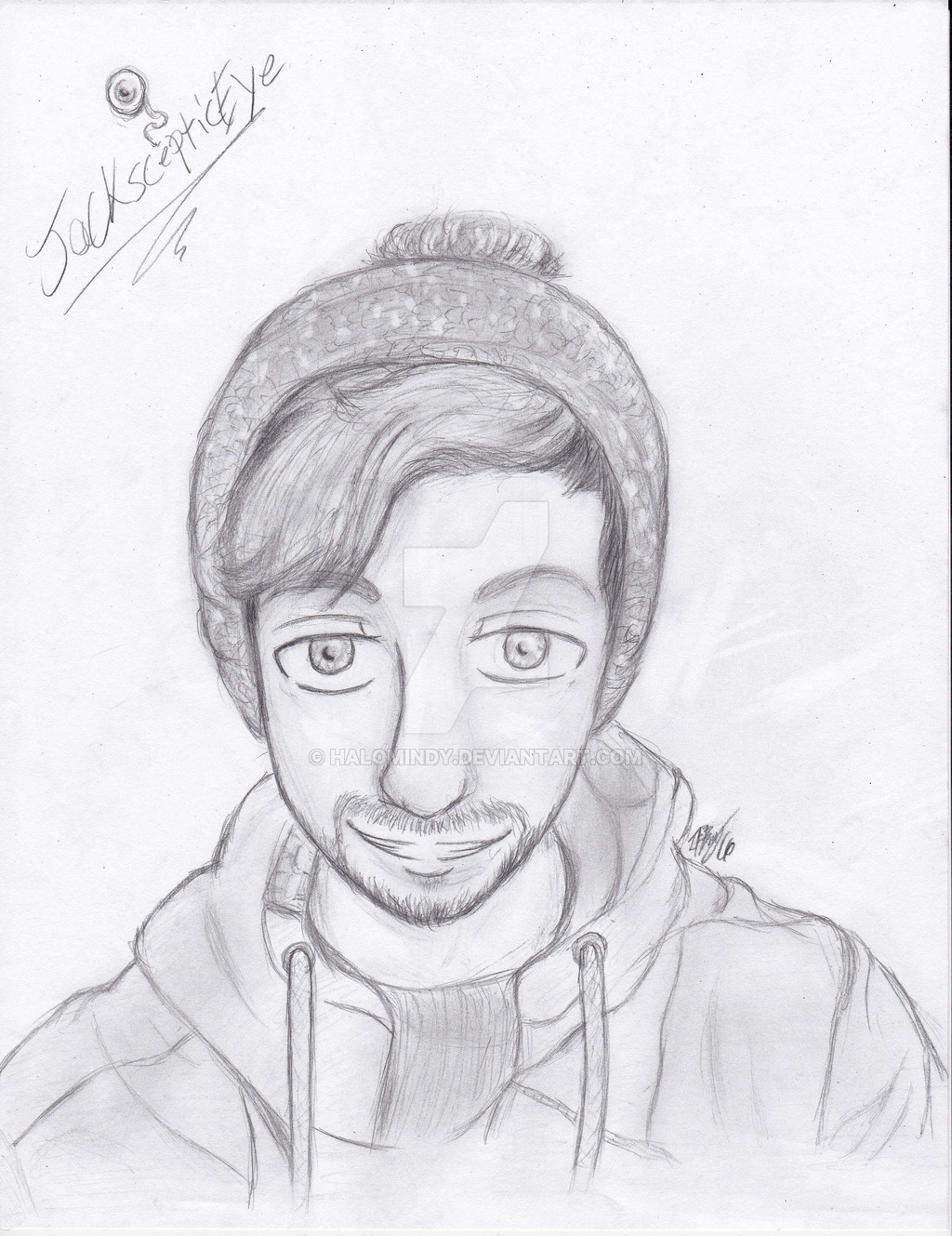 1024x1329 Jacksepticeye speed Drawing (Descrpition) By Halomindy