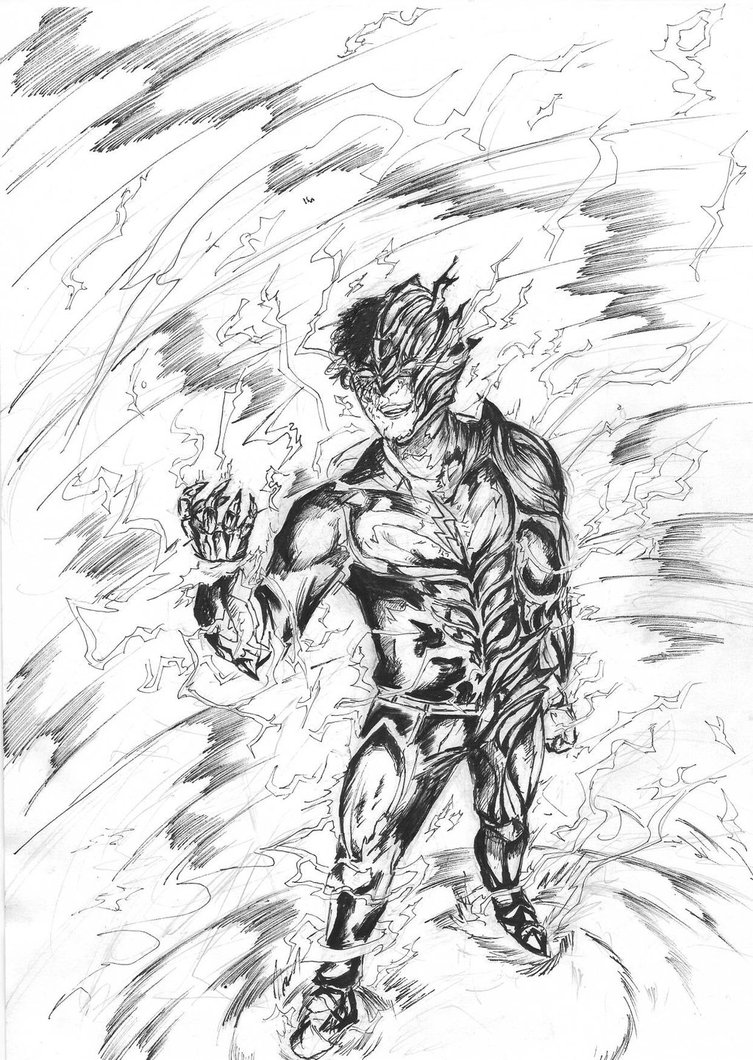 753x1060 W.i.p. Savitar, The God Of Speed By Y Drawings