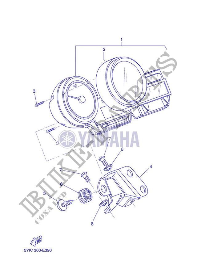 640x900 Speedometer Mt03 010 Yamaha Motorcycle Mt03 660 2007 Europe