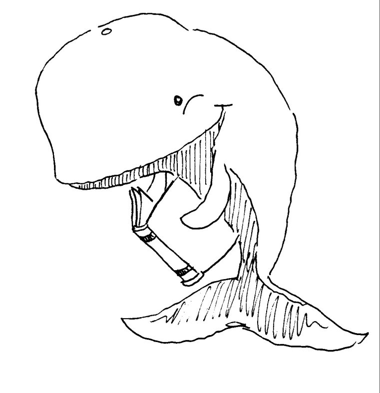 761x787 Jesse's Blog Moby Dick Ch. 75 The Right Whale's View