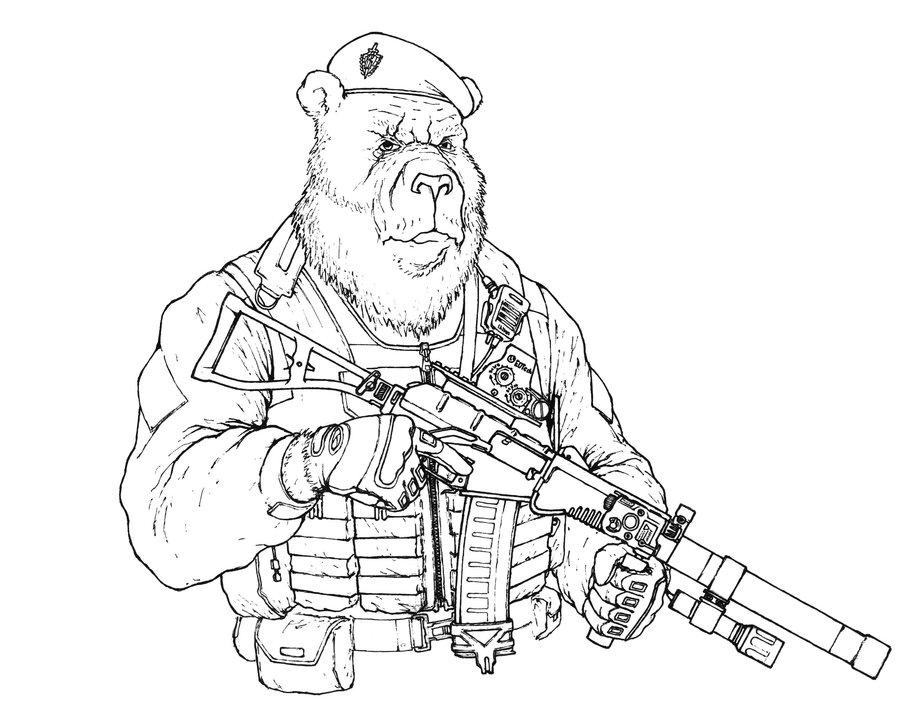 900x722 Russian Bear Stanislav By Muaythai40000