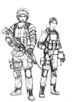 236x333 Russian Spetsnaz Soldiers 21st Century War Art
