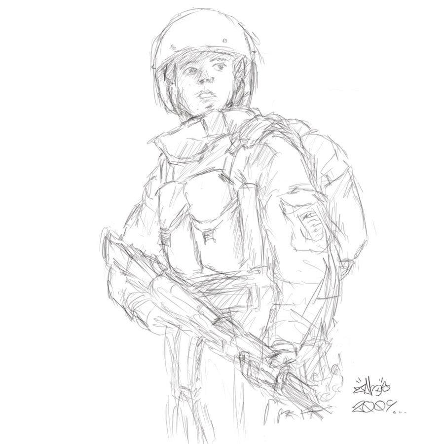 900x900 Sketch Spetsnaz By 7heoz