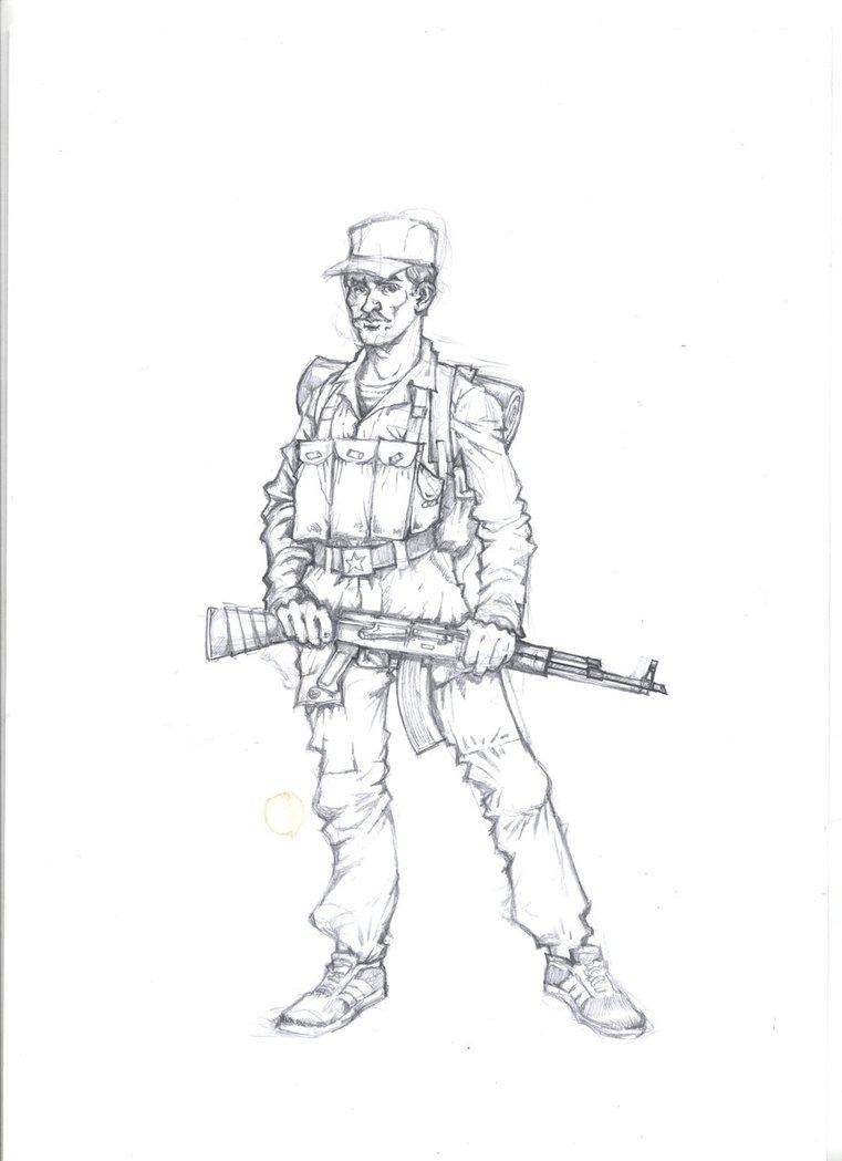 761x1049 Soviet Soldier By Landser83