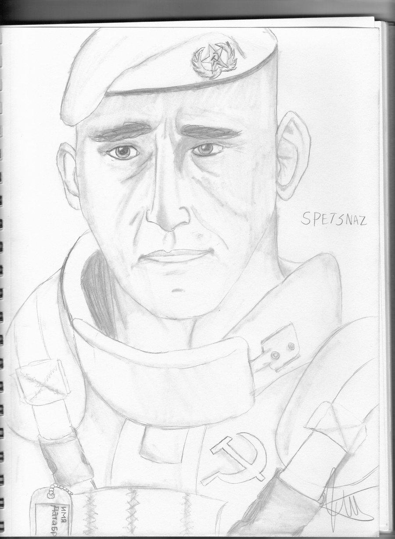 900x1228 Spetsnaz Soldier By Kaindigo