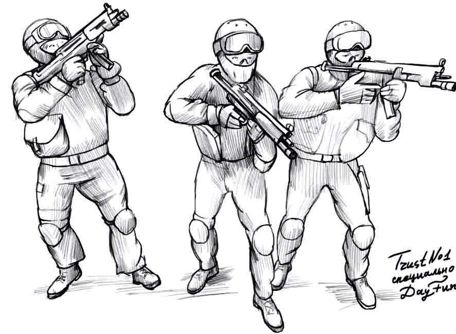 887x650 Spetsnaz Drawings Military Amino Amino