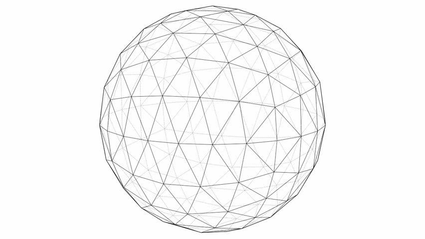 852x480 Sphere. 3d Stock Footage Video 824053 Shutterstock