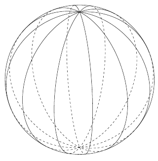 320x326 Tikzpgf Part 3 Drawing A Sphere Incomplete! Eclecticcats