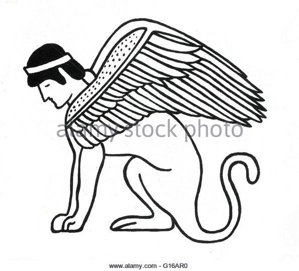 596x540 Mythical Creature Sphinx Stock Photos Amp Mythical Creature Sphinx