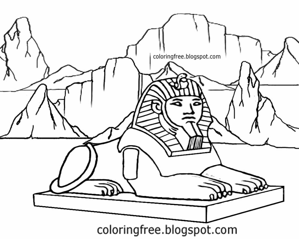 Sphinx Drawing at GetDrawings.com   Free for personal use Sphinx ...
