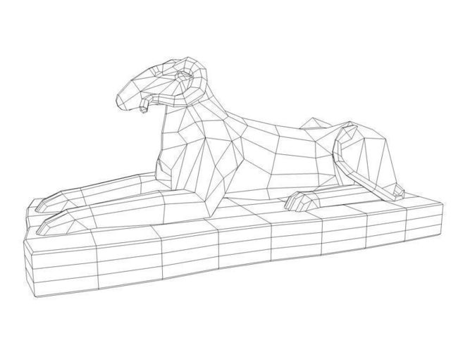 Sphinx Egypt Drawing