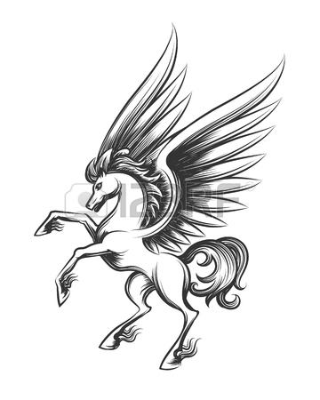 360x450 Ancient Pegasus Stock Photos. Royalty Free Ancient Pegasus Images