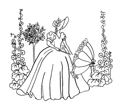 400x370 Free Patterns From Vintage Spice Needlework, Free Pattern