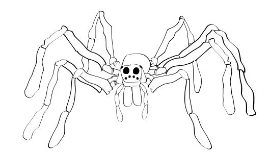 530x300 Wolf Spider Drawing Alex Schiller