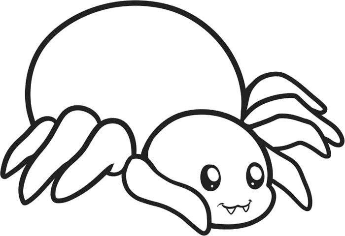 700x480 Cute Spider Drawing Cute Little Spider Drawing
