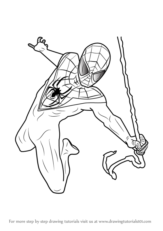 566x800 Learn How To Draw Miles Morales From Ultimate Spider Man (Ultimate