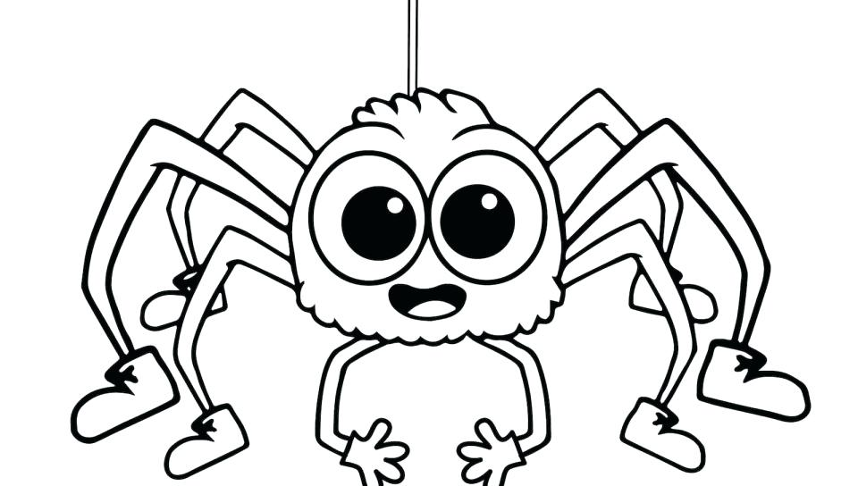 960x544 Spider Coloring Picture Spider Coloring Pages Common Worksheets