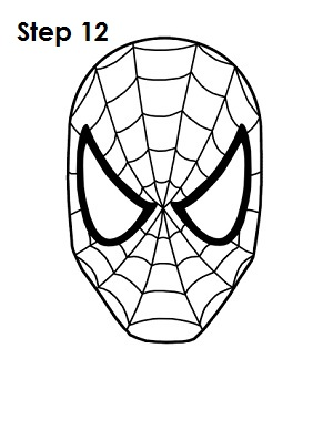 300x388 Coloring Pages Spiderman Easy Draw Spiderman Pictures Easy