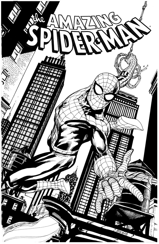 1001x1530 Spider Man Again Grade 10 Robert Atkins Art