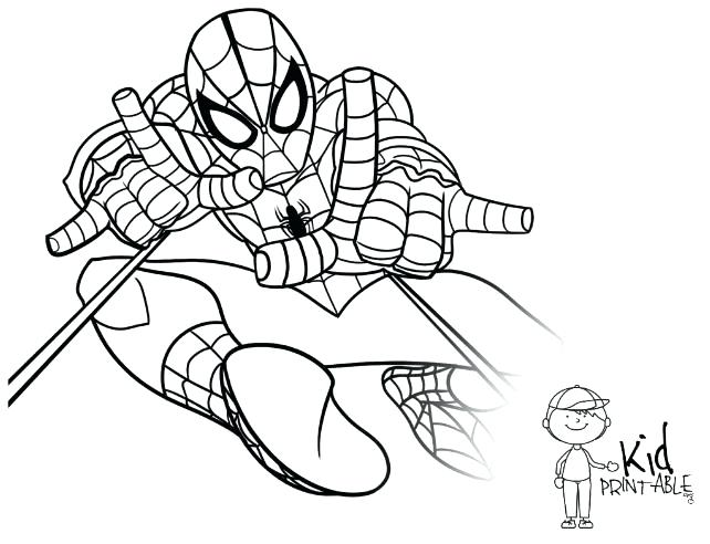 642x492 Amazing Spider Man 2 Coloring Pages Printable For Kids Best