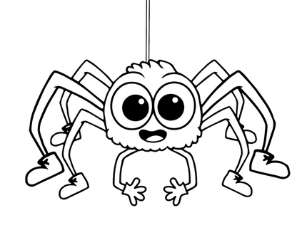 430x323 Printable Spider Coloring Pages Online For Kids