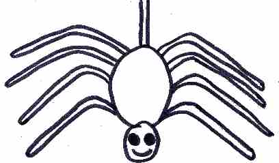 408x239 Spider Drawing For Kids