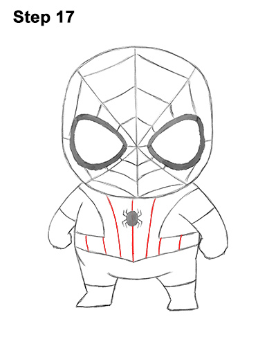 386x500 How To Draw Spider Man (Mini)