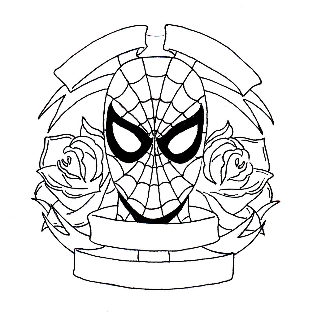 1024x1024 Spider Man By Rp D