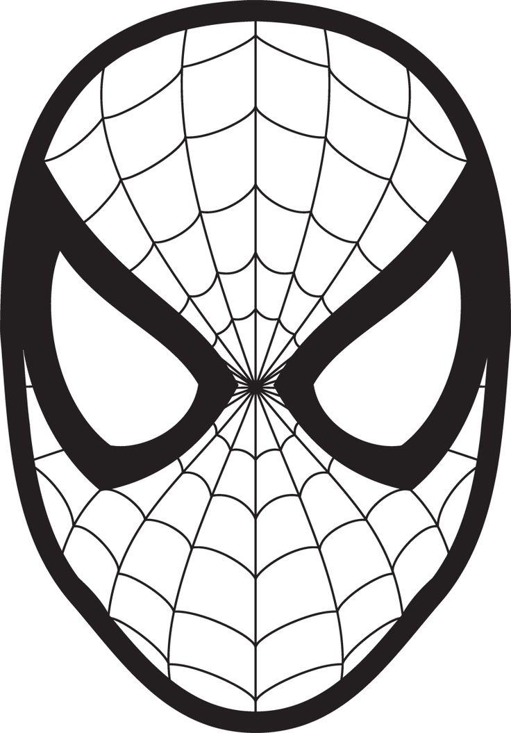 736x1055 Spiderman Face Logo Spiderman Mask Clipart 23425wall Jpg Fun Stuff