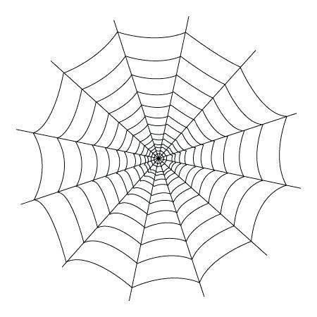450x450 How To Draw A Spider Web Spider Web Draw Spider Web On Face