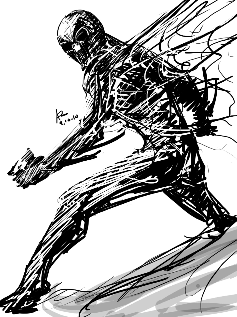 spider man 2099 coloring pages - spider man 2099 drawing at free for