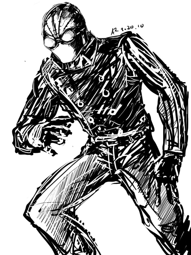Spider Man 2099 Drawing at GetDrawings