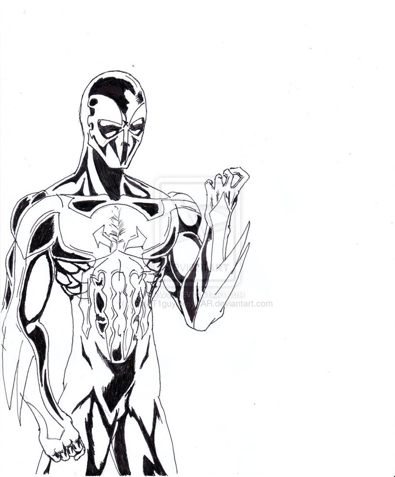 Lujo Colorear Spiderman Fácil Inspiración - Dibujos Para Colorear En ...