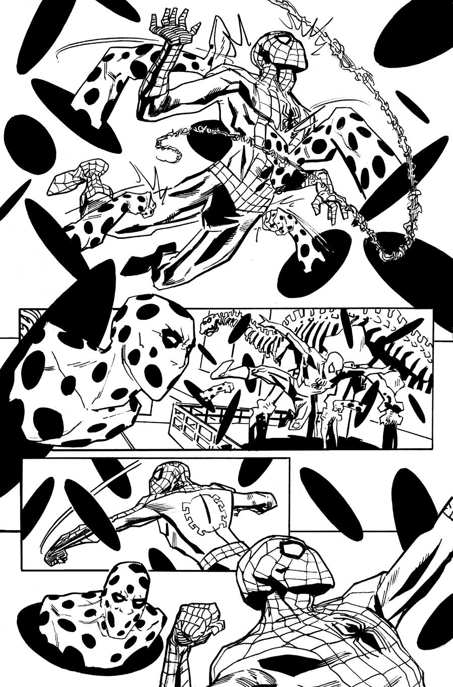 900x1366 Spider Man And The Spot Portfolio Pages Dean Kotz