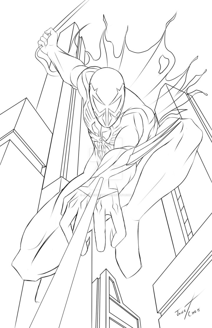 Spider Man 2099 Drawing at GetDrawings | Free download