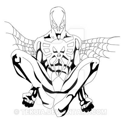 Spider Man 2099 Drawing At Getdrawings Free Download