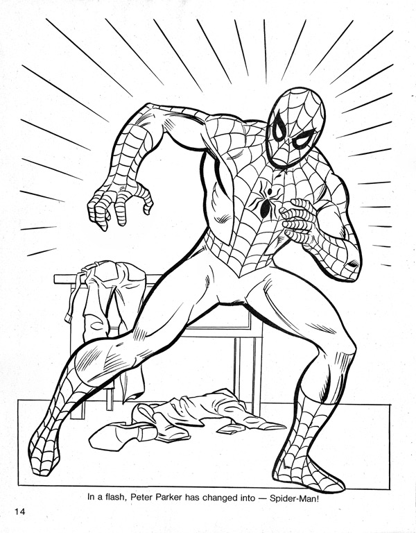 Spider Man Cartoon Drawing At Getdrawings Com Free For Personal