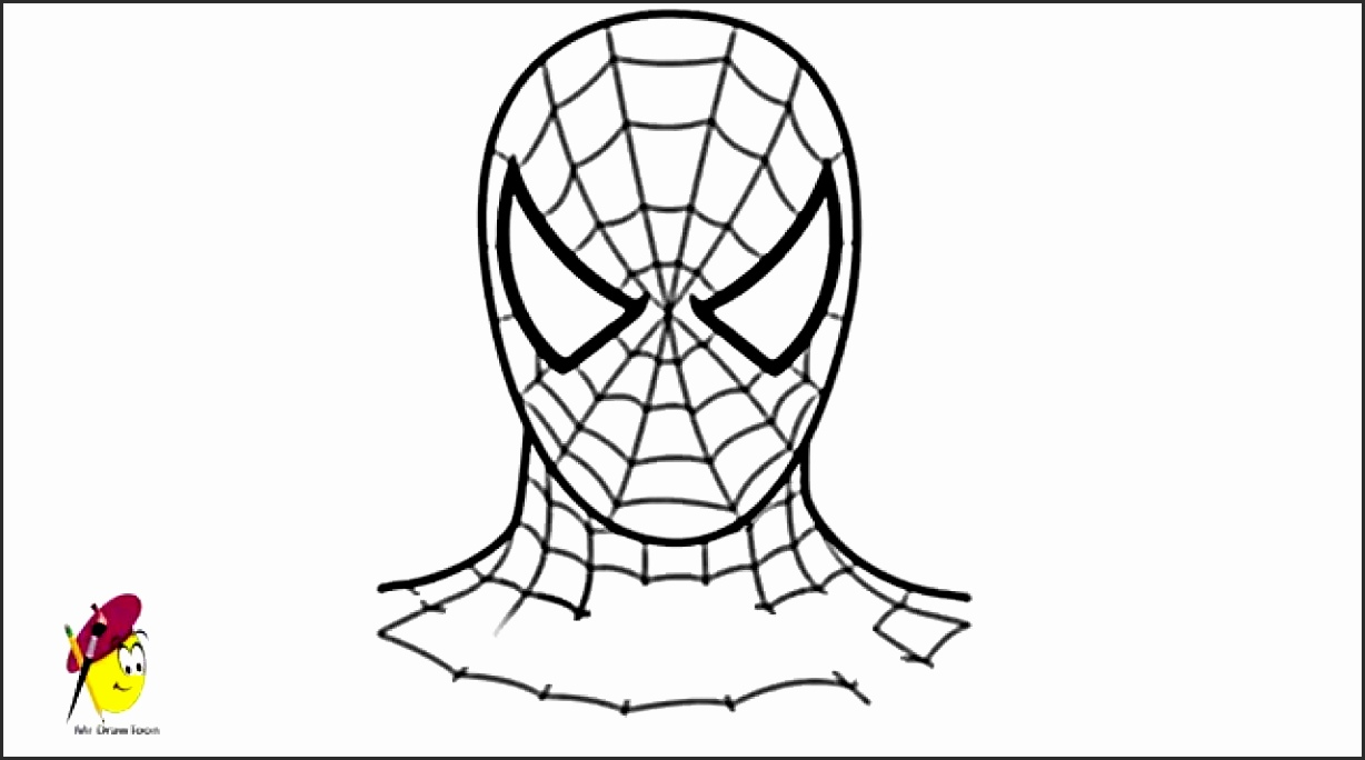1228x684 Easy Spiderman Drawings Sfy0r Awesome How To Draw Cute Spiderman