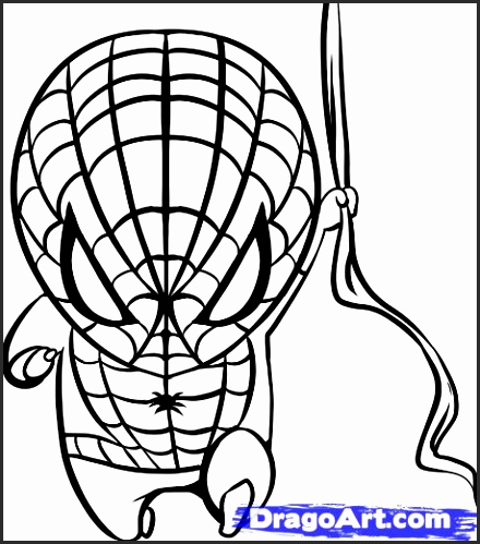 440x499 Easy Spiderman Drawings Tzlxe Best Of How To Draw Chibi Spiderman