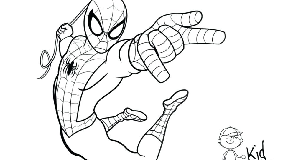 960x544 Spiderman Coloring Pages For Kids Free Coloring Pages Coloring