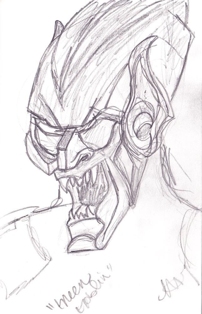646x1000 Sketch Please Green Goblin